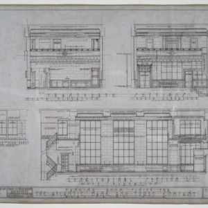 Interior sectional elevations