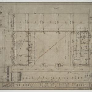 Mezzanine framing plan