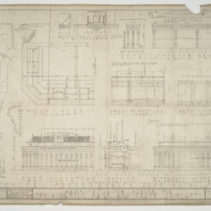 Interior elevations and details