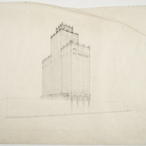 Sketch of the tower
