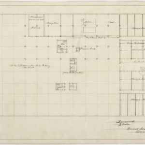 Revised basement plan