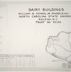 Dairy Buildings, Randleigh Farm, North Carolina State University, Raleigh, NC