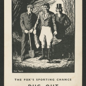 """The fox's sporting chance dug out or """"heads we win, tails you lose"""""""