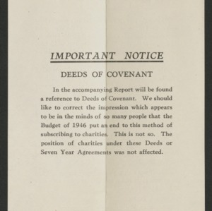 Fundraising appeal from the P.D.S.A. to Mr. & Mrs. W. Telfer
