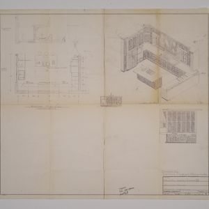 Blueprints of Mr. and Mrs. Dudley L. Simms III residences