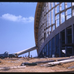 Dorton Arena Construction/State Fairgrounds