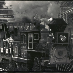 Miniature railroad at Pullen Park, circa 1969 - circa 1975