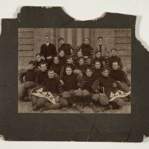 1903 Football team group portrait