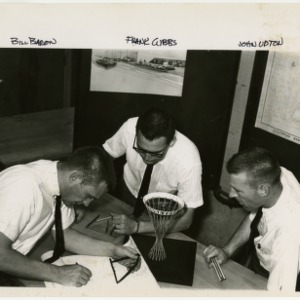 Bill Baron, Frank Gibbs and John Upton with Tallywood Sign