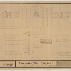 Winn Dixie for Tallywood Shopping Center architectural drawing