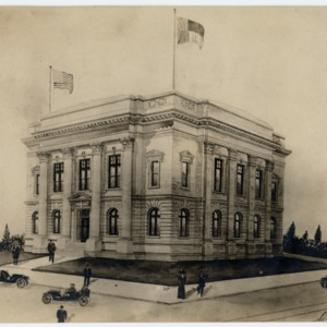 Elevation, unidentified building