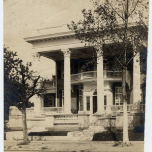 J. A. Jones House, Front View