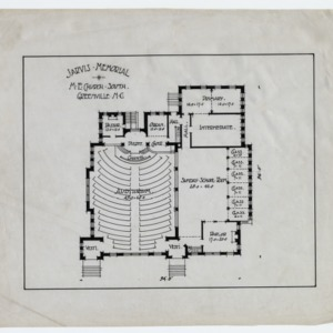 Jarvis Memorial Church -- Floor plan