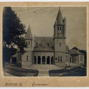 Centenary Methodist Church, Front View