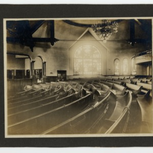 Centenary Methodist Church, Interior View