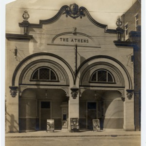 Athens Theater -- Exterior Front View