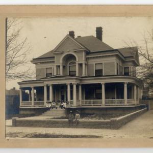 J. W. Braxton House, Kinston, Front View