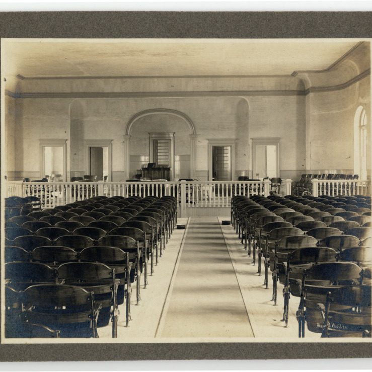 Carteret County Courthouse, Interior View
