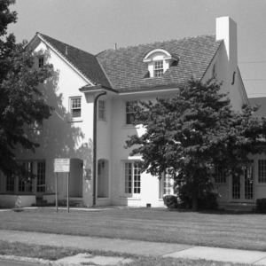 Front, A. H. Bahnson House