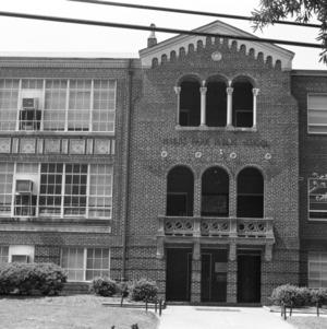 Entrance 1, Myers Park Elementary