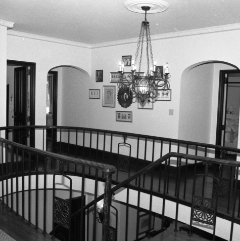 Second Floor Hall, Hamilton C. Jones III House