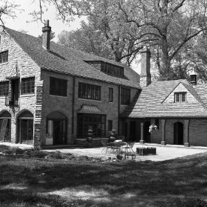 Back View, Hamilton C. Jones III House
