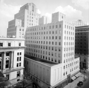 Durham Life Insurance Building, Rear View