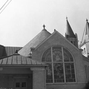 Exterior Stained Glass Window, Centenury Methodist Church