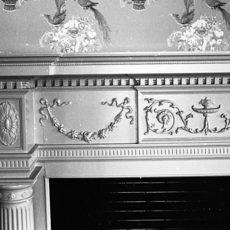 Fireplace Detail, Coor-Bishop House