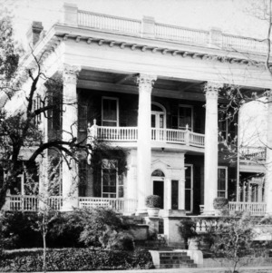 Front View, J.A. Jones House