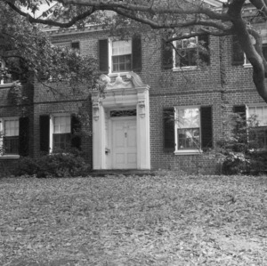 Entrance, Hargrove Bellamy House