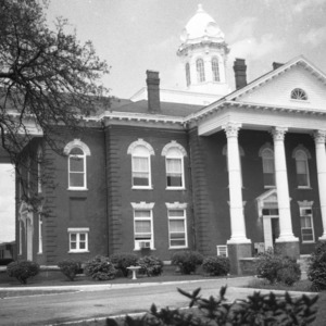 Side and Front Exterior, Carteret Courthouse