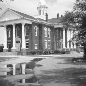 Side Exterior, Carteret Courthouse