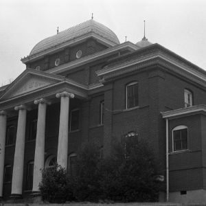 Stokes County Courthouse (Danbury Courthouse), Front and Side View