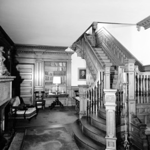 Hall and Stairway, W.B. Blades House