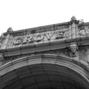 Grove Detail on Entrance, Grove Arcade
