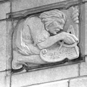 Relief detail, Grove Arcade
