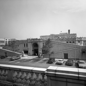 Exterior View, Grove Arcade