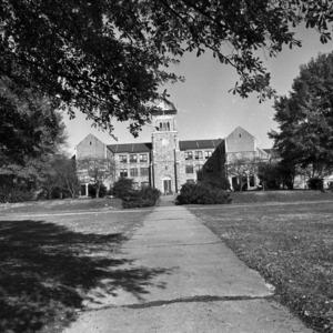Needham B. Broughton High School, Front View