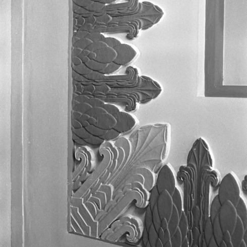 Lobby Wall Detail, Snow Building
