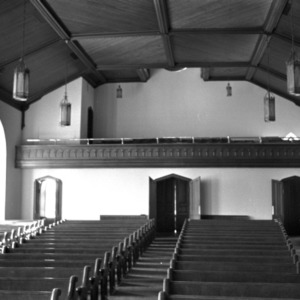 Sanctuary, First Baptist Church