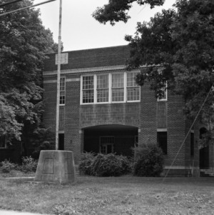 Fourteenth Street Colored Grade School, Front View