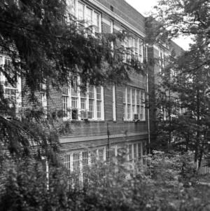 Fourteenth Street Colored Grade School, Side View