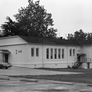 Ellis Street Grammar School, Front View