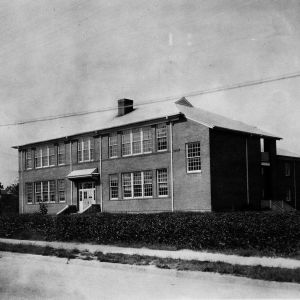 Oblique Exterior, Reidsville Negro High School