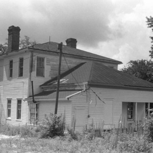 Dr. Wilbert Jackson House, Side View