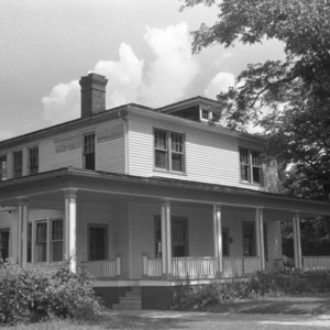 Dr. Wilbert Jackson House, Front View