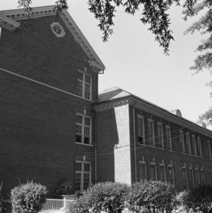 Julian S. Carr, Jr., High School, Side View