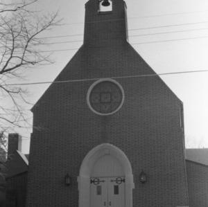 Front View, Lee Memorial Presbyterian Church