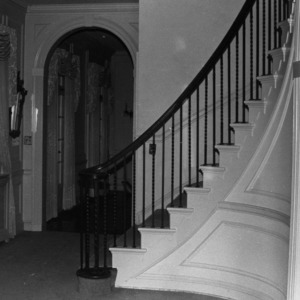 Stairway, W.F. Womble House